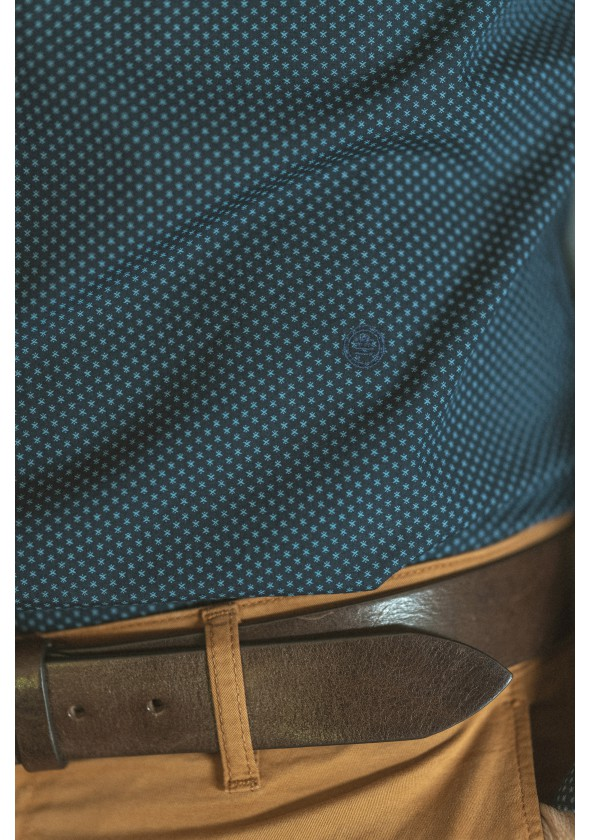 Chemise à motifs minimalisteschl2260a13172sb-0599_3