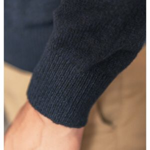 Pull à col boutonné en laine mélangée Indigopul1901a18300sb-0550_3_2